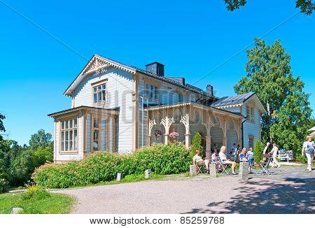 Espoo. Finland. The Akseli Gallen Kallela Museum