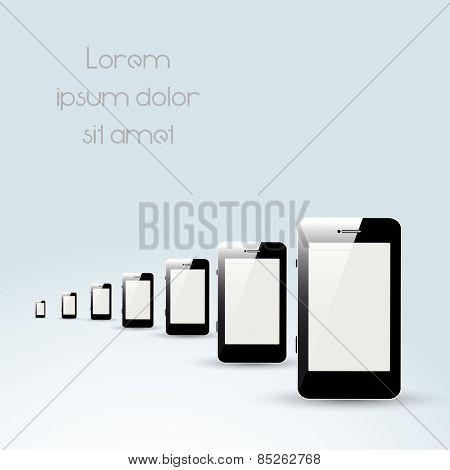 Mobile phones, easy all editable