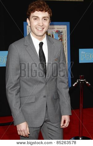 LOS ANGELES - APR 21: Daryl Sabara at the premiere of Walt Disney Pictures' 'Prom' at the El Capitan in Los Angeles, California on April 21, 2011.