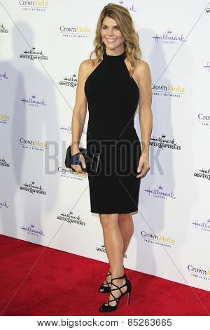 LOS ANGELES - JAN 8: Lori Loughlin at the TCA Winter 2015 Event For Hallmark Channel and Hallmark Movies & Mysteries at Tournament House on January 8, 2015 in Pasadena, CA