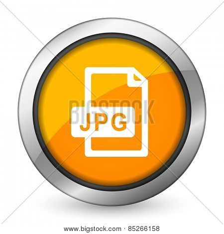 jpg file orange icon