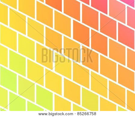 Background With Colorful Rhombs