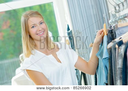 Shopping for a new outfit