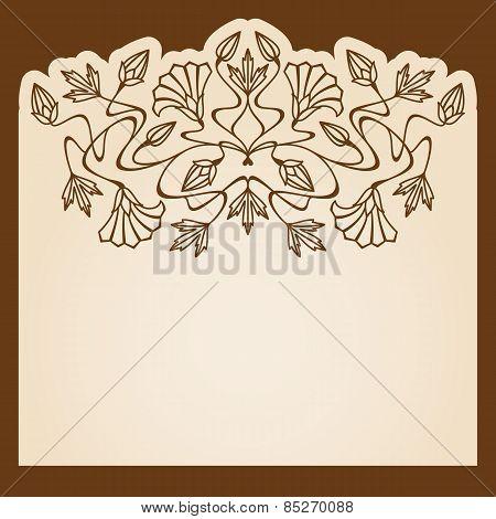 Vector Invitation Card.