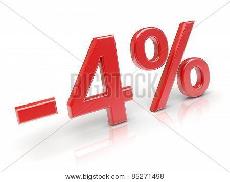 4% Discount