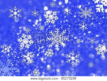 Snow Flacke Background