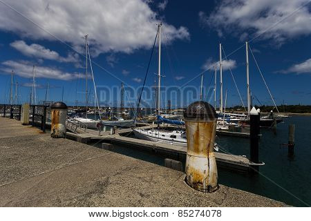 Bollards And Boats