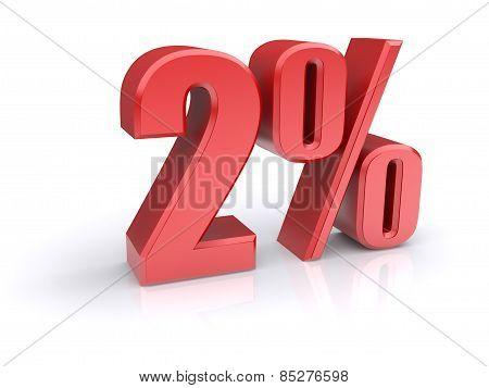 2 Percent Sign