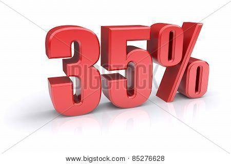 35 Percent Sign