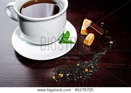 Composition Of Tea