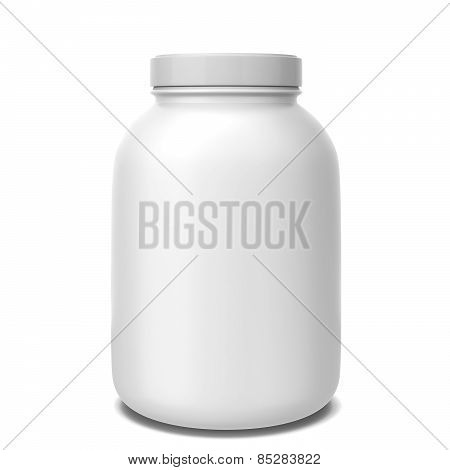 Sport Supplement Jar