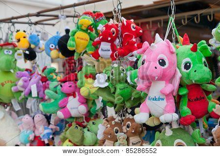 Souvenir Toy Dragons.