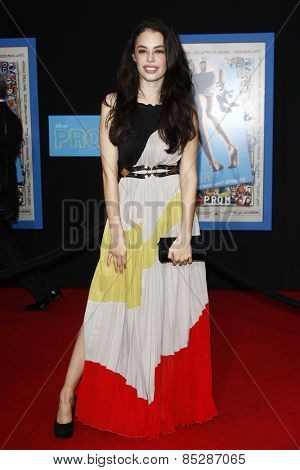 LOS ANGELES - APR 21: Chloe Bridges at the premiere of Walt Disney Pictures' 'Prom' at the El Capitan in Los Angeles, California on April 21, 2011.