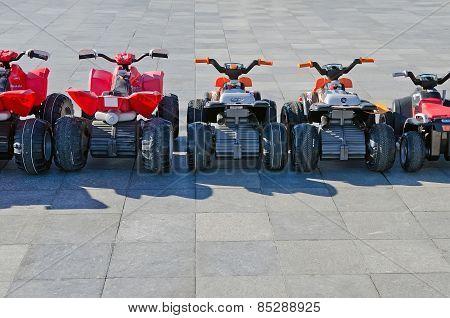Fun For Kids - Children's Amusement Rental Cars