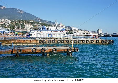 Sea Port Of Yalta