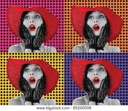 Pop Art Women