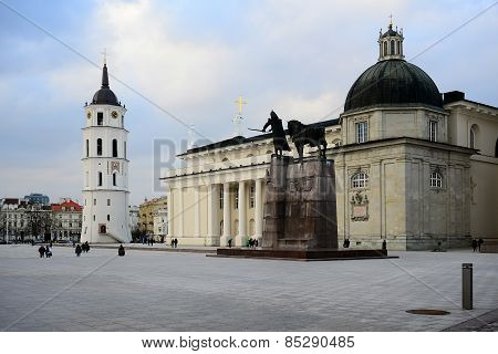 Vilnius Cathedral Is The Heart Of Lithuanian Capital