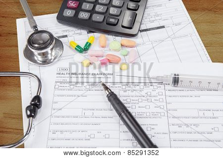 Document To Health Insurance Claim