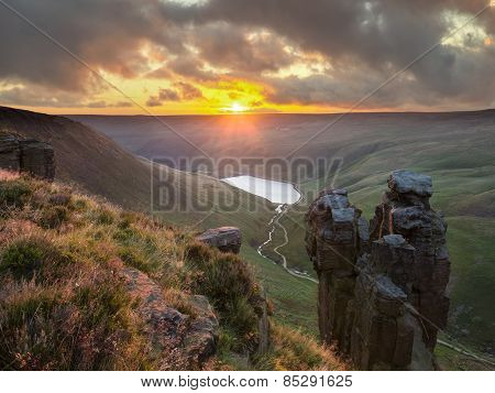 The Trinnacle, Saddleworth Moor