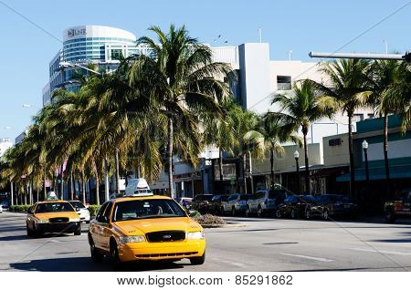 Taxi In Miami Beach