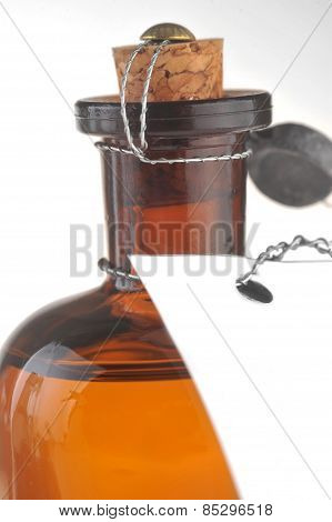 Bottle With  Cosmetic Mean