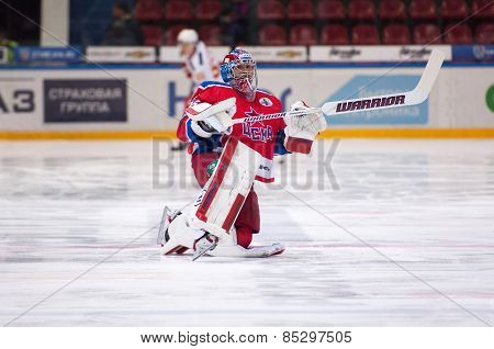 Kevin Laland (35), Goaltender Of Cska Team