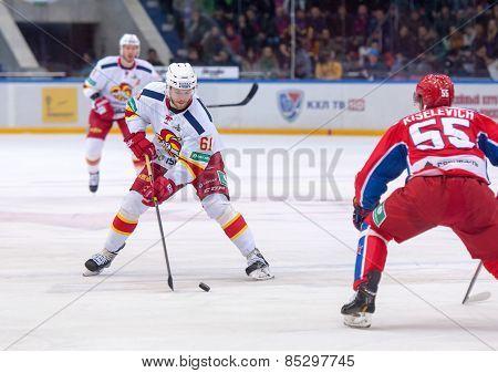 T. Huhtala (61) Versus B. Kiselevich (55)