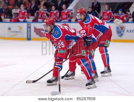 V. Gharkov (25) And E. Artukhin (44)