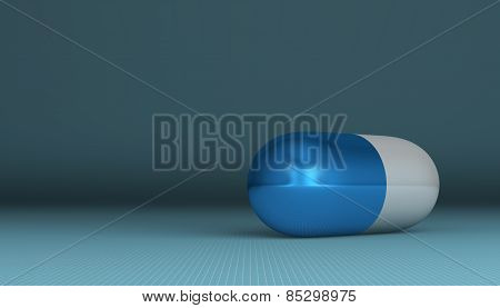 White And Blue Pill