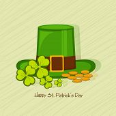 picture of leprechaun hat  - Happy St - JPG