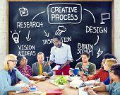 stock photo of process  - Creative Process Design Vision Brainstorm Concept - JPG