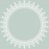 picture of damask  - Floral vector oriental pattern with damask - JPG