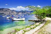 foto of lagos  - scenery of Lago di Garda - JPG