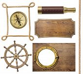 image of steers  - nautical objects rope - JPG