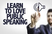 pic of public speaking  - Business man pointing the text - JPG
