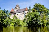 stock photo of castle  - austria - JPG