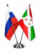 stock photo of burundi  - Russia and Burundi  - JPG