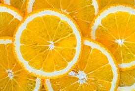 picture of orange  - fresh orange orange background Slices of orange - JPG