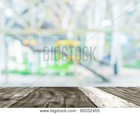 Blur Image Of Stairs