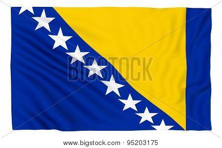Flag Of Bosnia And Hercegovina