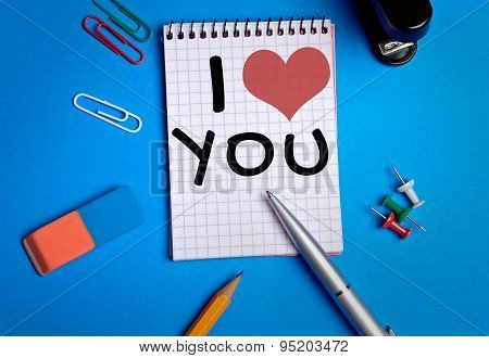 I Love You Word