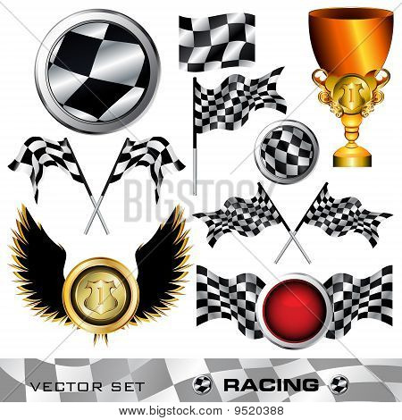 Checkered Symbol Set