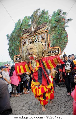 Reog Dancer