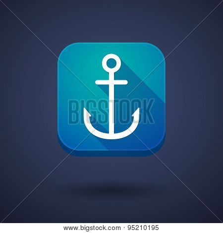 App Button With An Anchor