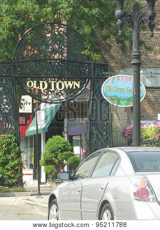 Entrance to Old Town and art galleries