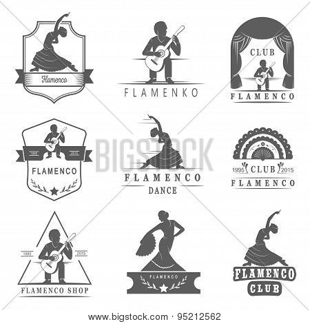 Set Badges Flamenco