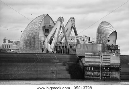 Thames Barrier Gate Closed
