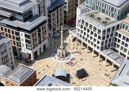 Paternoster Square In London
