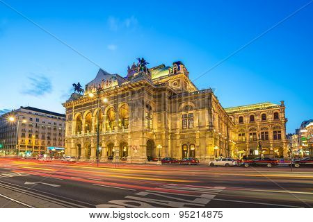 State Opera building - Vienna - Austria