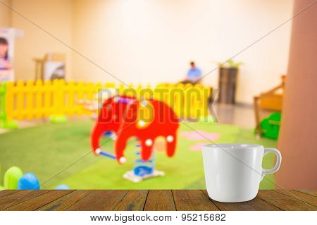 Arcade Game Machine Shop Blur Background With Bokeh Image